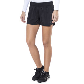 asics Woven - Short running Femme - noir